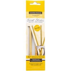 Candle-lite Essential Elements ScentSticks fragranced paper sticks with essential oils - Vanilla & Sandalwood