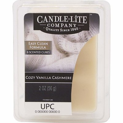 Candle-lite Everyday Collection wax melts 2 oz 56 g - Cozy Vanilla Cashmere